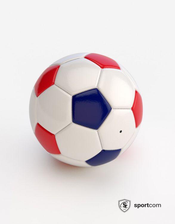 WF050 Blc/bleu/rouge T 5  Football vision