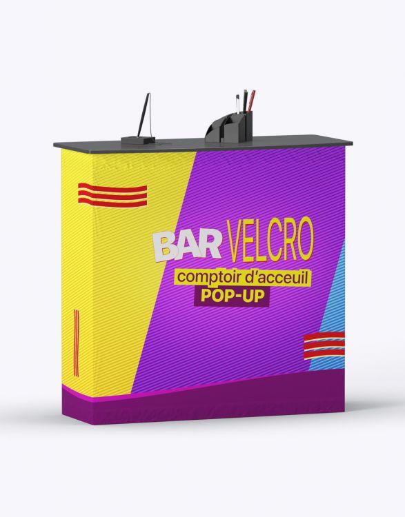 BAR VELCRO  Comptoir D'Accueil Velcro