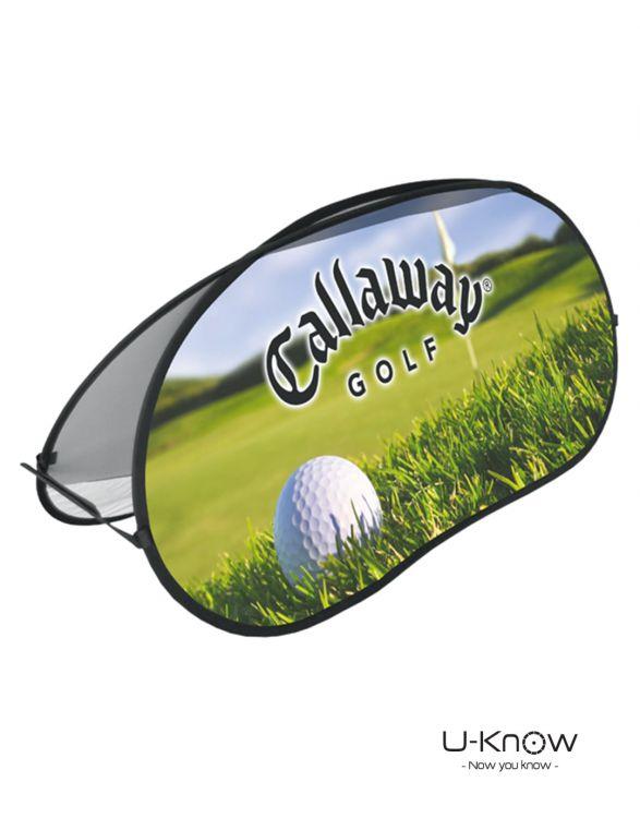 BEAN FLAG - L  Barrière Haricot Golf 110 x 250cm