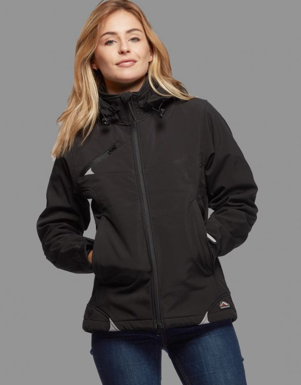 CÔME  SOFTSHELL EXTREME FEMME 3 COUCHES