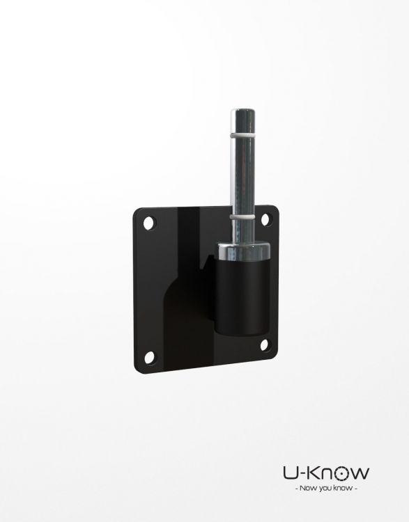 MATP65 NOIR Mono  Axe de rotation / platine verticale