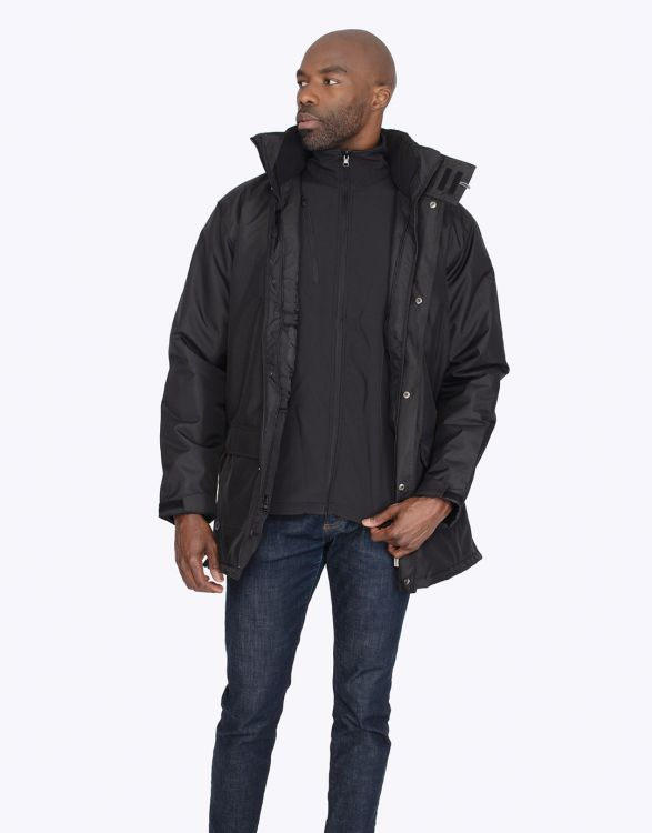 MOROK  PARKA 3 EN 1 AVEC SOFTSHELL DETACHABLE