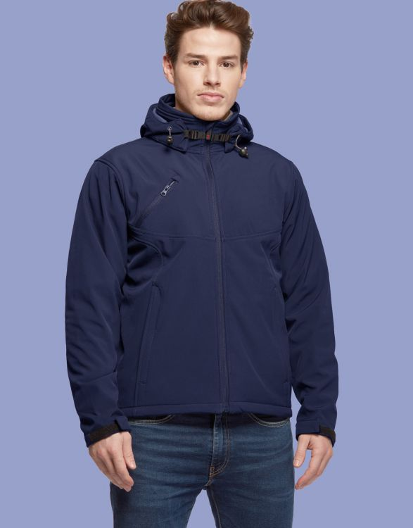 NISEKO  SOFTSHELL HOMME 3 COUCHES