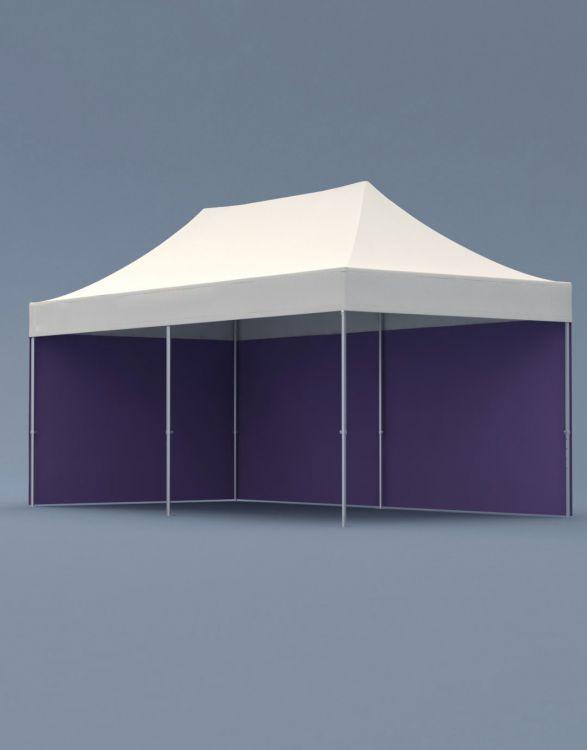 POPTENT HA 600  Aluminum Folding Tent 6x3m