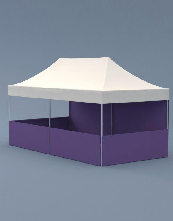 POPTENT HA 600  Tente Aluminium 6x3m