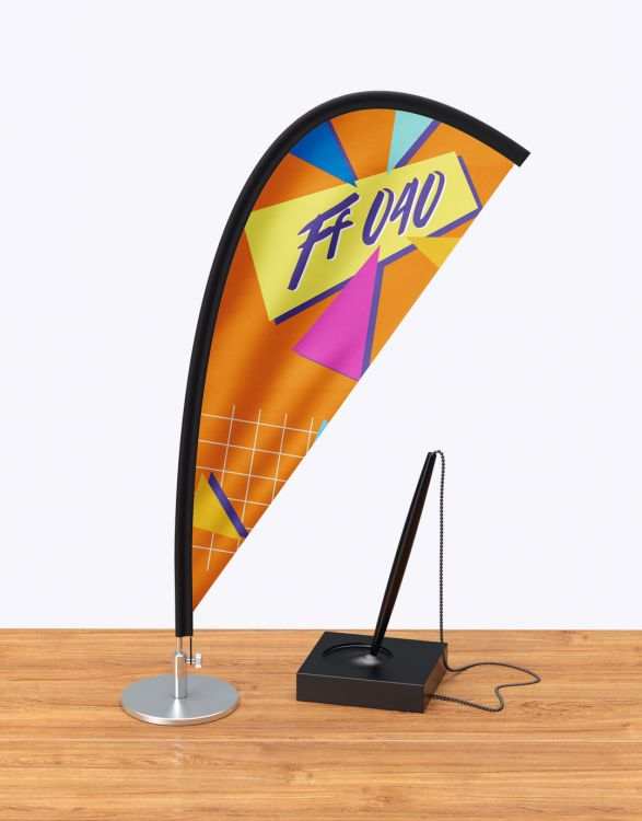SET TABLE FLAG  Oriflamme de Bureau