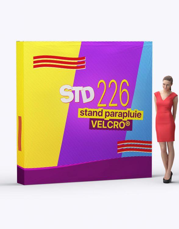 STD 226  Stand Parapluie Velcro 230 x 230 cm