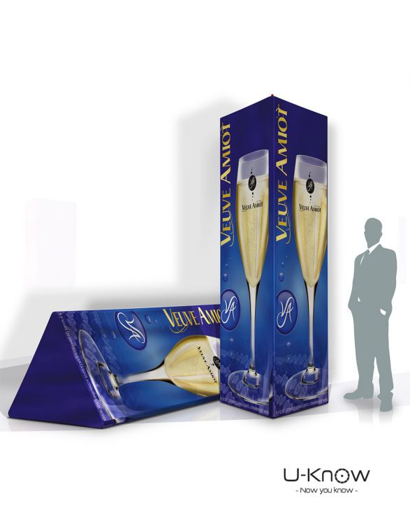 TRIANGULAIR - XL  Prisme Gonflable 120 x 120 x 300cm