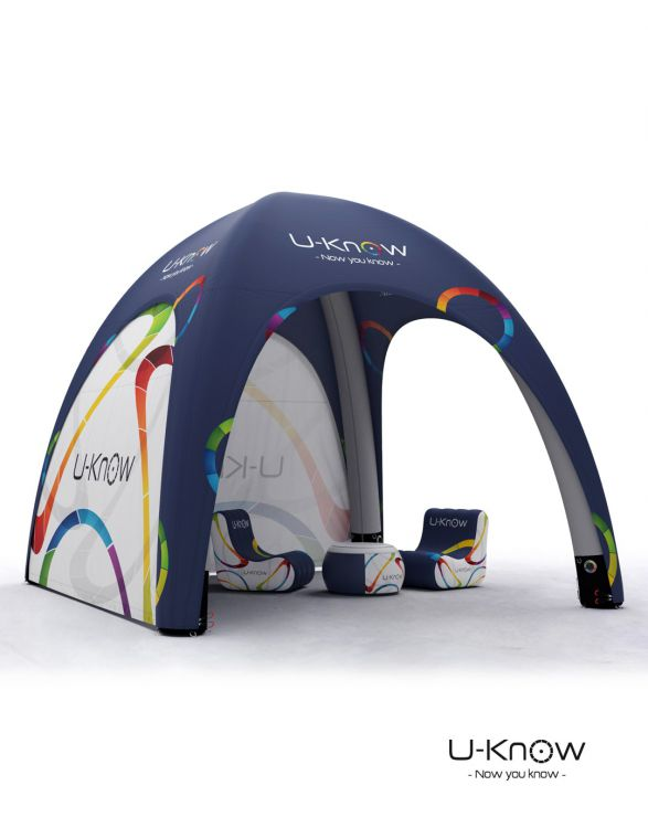 U-TENT 400  TENTE GONFLABLE 4x4m