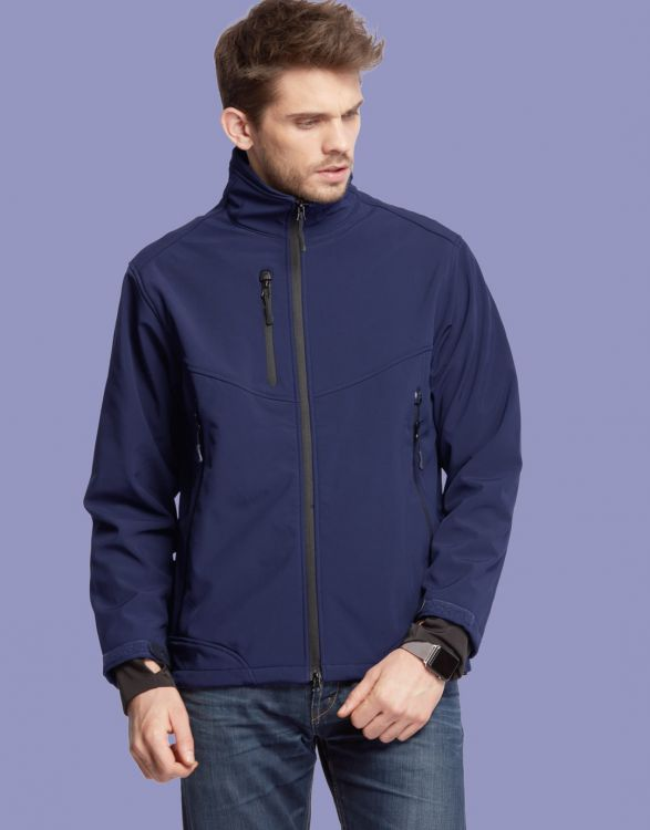 VOLCANO  SOFTSHELL HOMME 3 COUCHES
