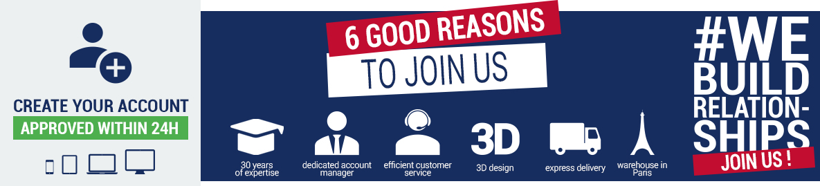 6 good reasons to join us